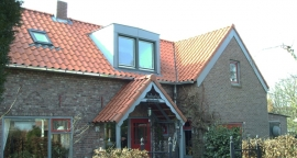 Vernieuwen dak woonhuis