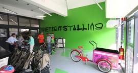 Renovatie fietsenstalling